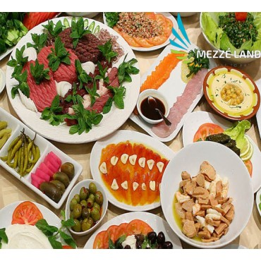 Meze for 2 people