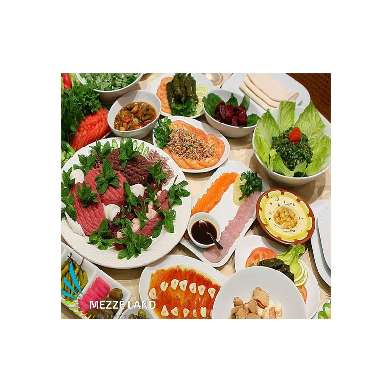 Meze for 4 people