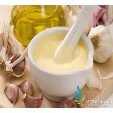 Mousse of garlic