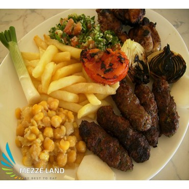 Assiette Kafta Halabi