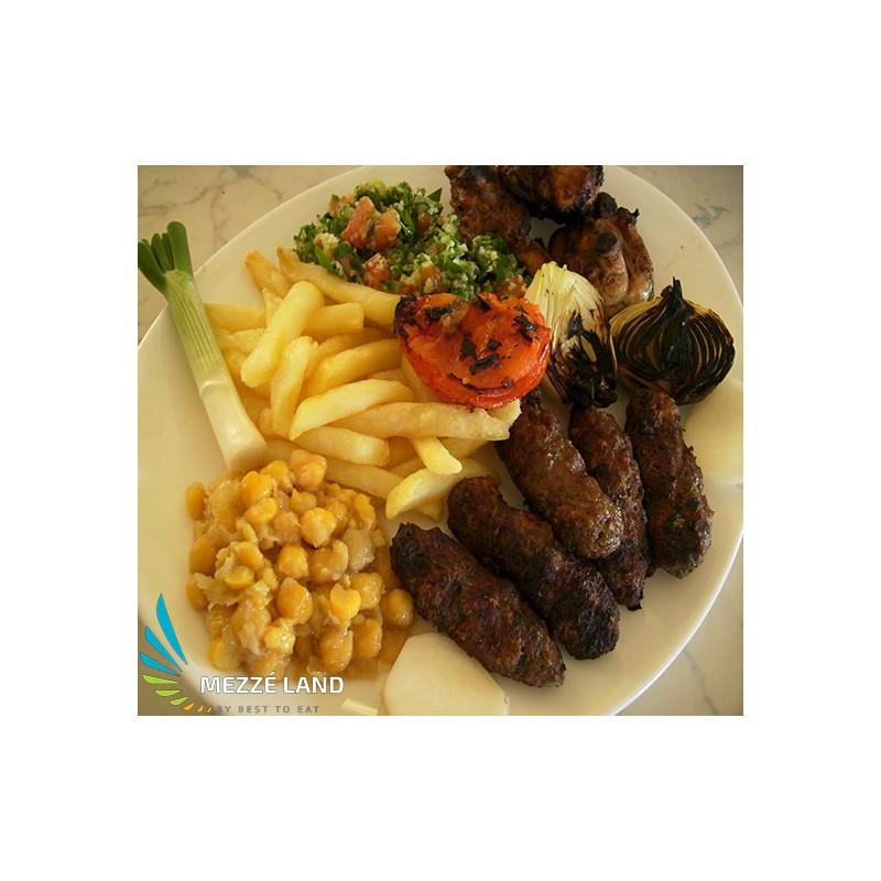 Kafta Halabi Dish